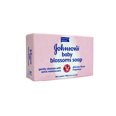 Johnsons Blossoms Baby Soap 100gm (UB)