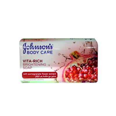 Johnsons Vita Rich Brightening Baby Soap 125gm