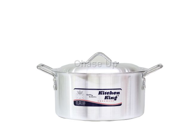 Kitchen King Aluminium Competent Degchi (Capacity 5Kg)