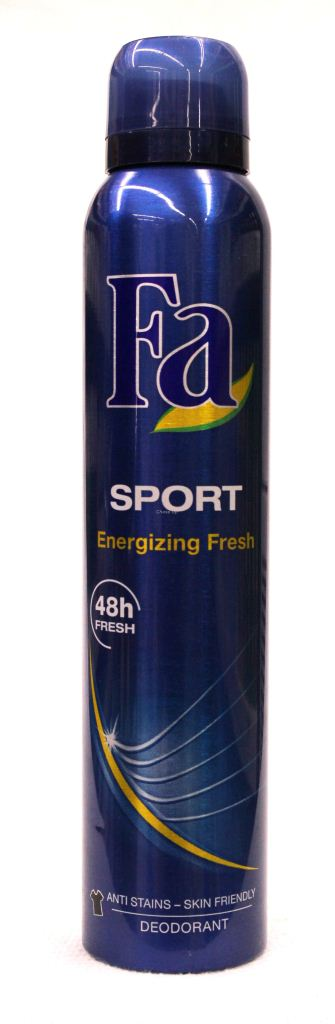 Fa Sport Energizing Fresh Body Spray 200ml
