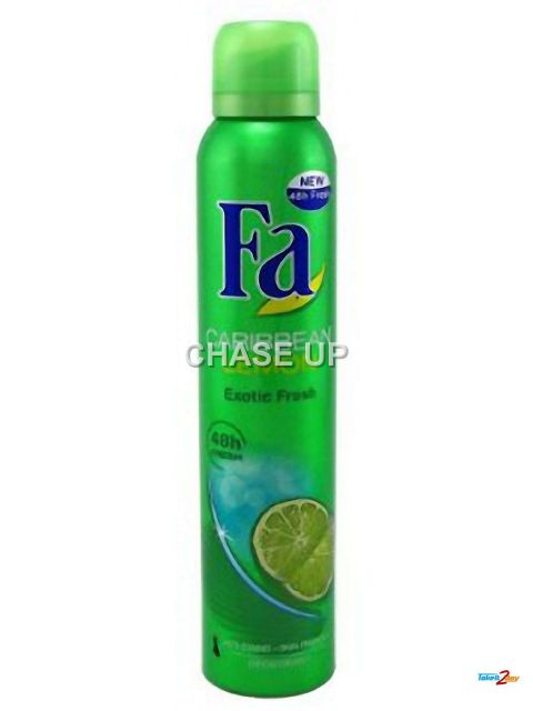 Fa Caribbean Lemon Body Spray 200ml