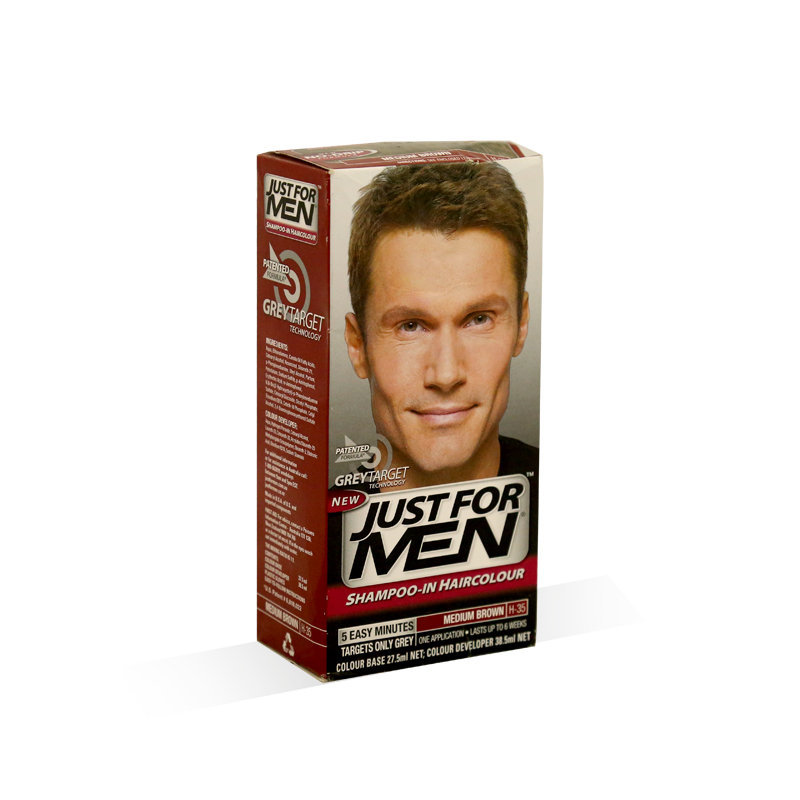 Just For Men Head Hair Color Medium Brown 60ml