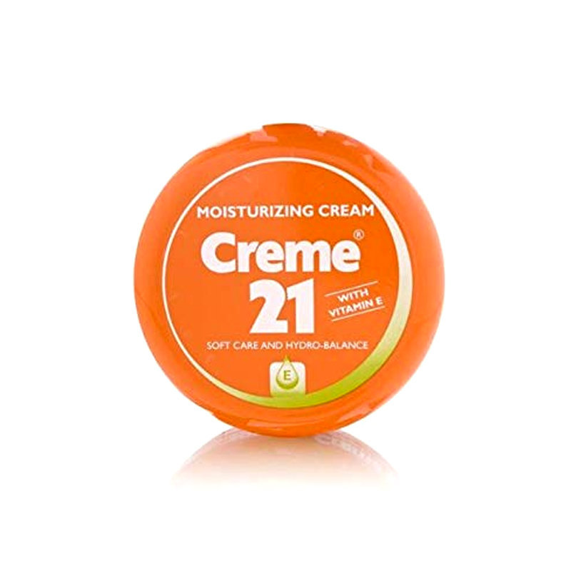 Creme 21 Soft Vitamin E Moisturizing Face Cream 150ml