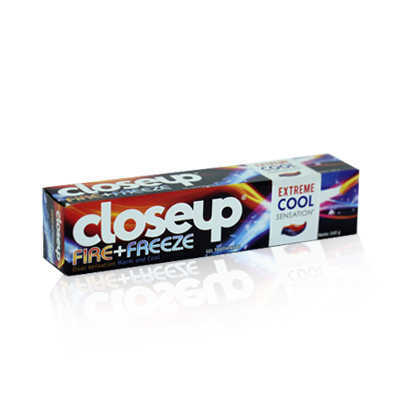 Close Up Fire Freeze Tooth Paste 160gm Indo