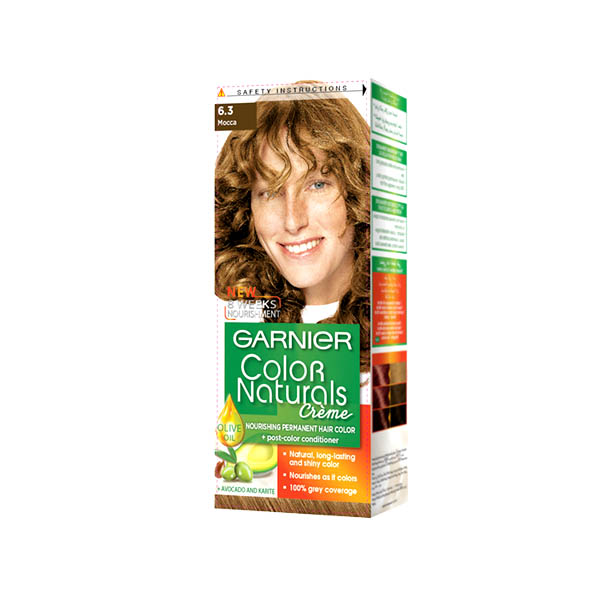 Garnier Color Naturals Hair Color 6.3 Tube 40ml