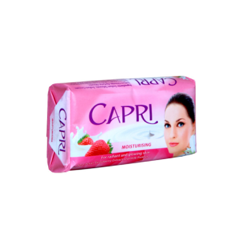 Capri Rose Petal And Strawberry Soap 140gm (NP)