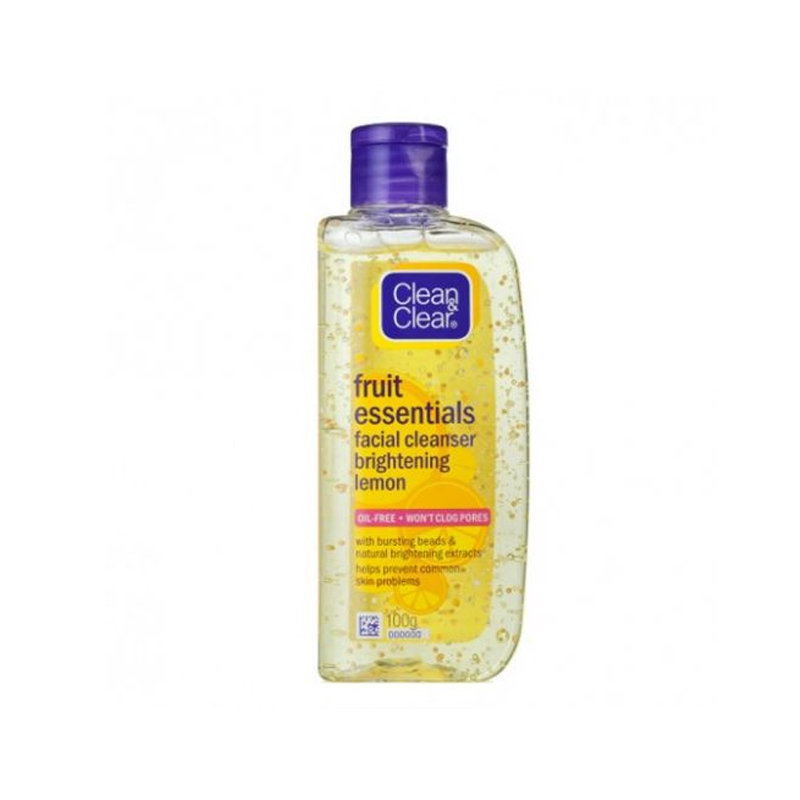 Clean & Clear Fruit Essentials Lemon Facial Cleanser 100ml