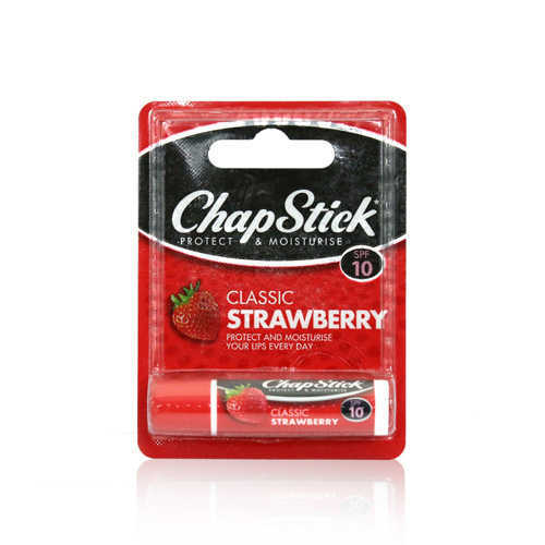 Chap Stick Strawberry Lip Balm 4gm (USA)