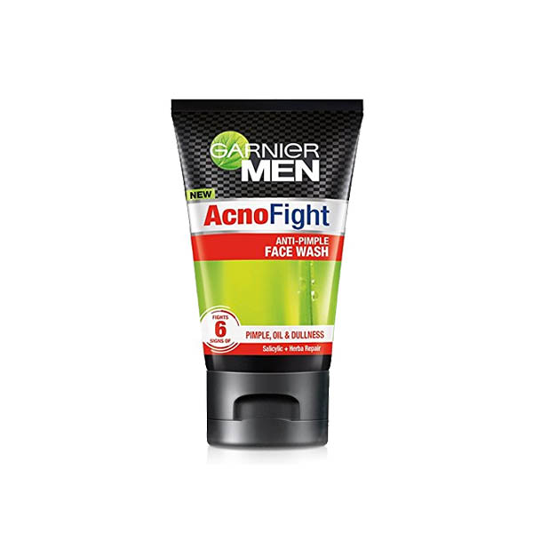Garnier Men Acno Fight Pimple Clearing Face Wash 100gm