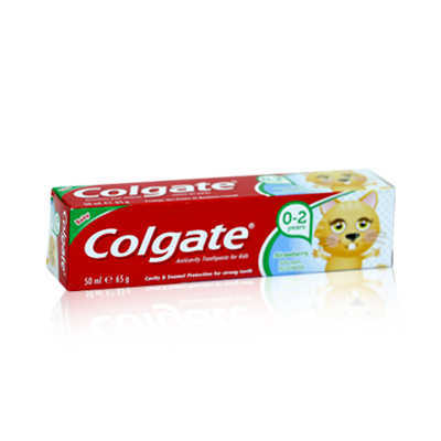 Colgate For Kids Strawberry Tooth Paste 50ml-66.5gm