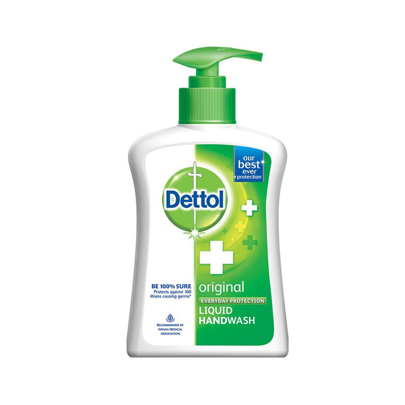 Dettol Original Hand Wash Pump 200ml (Ind)