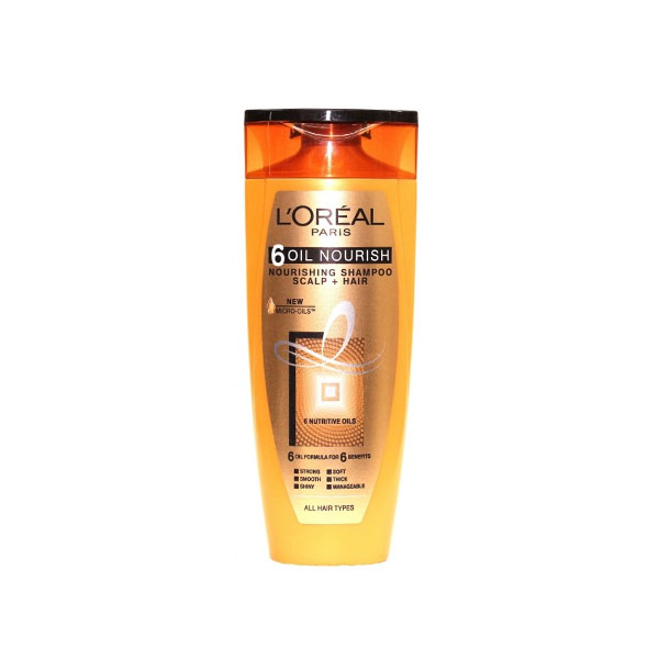 Loreal 6 Oil Nourish Shampoo 360ml (AG)