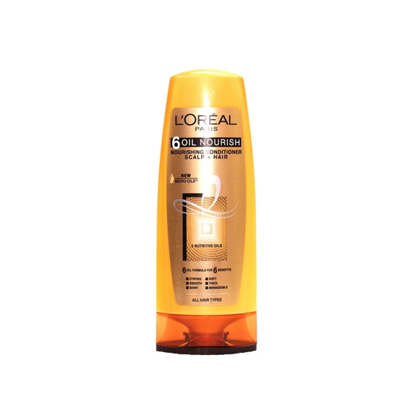 Loreal 6 Oil Nourish Conditioner 175ml (AG)