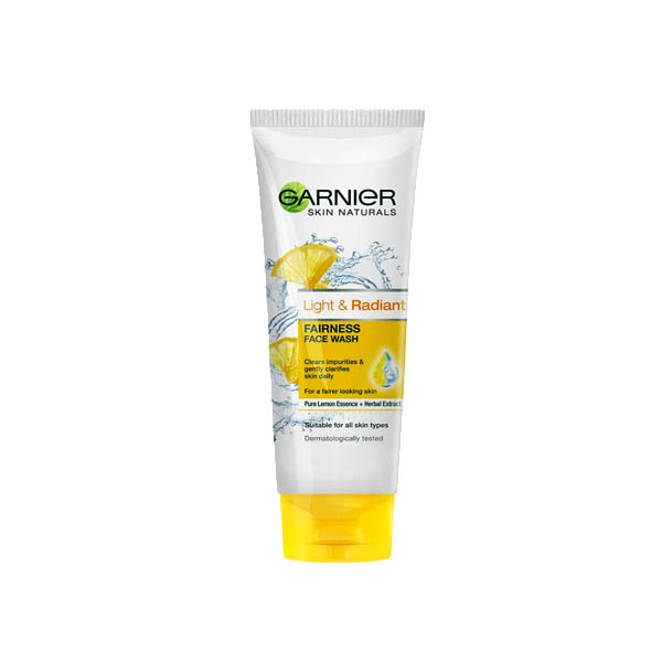 Garnier Light & Radiant Fairness Face Wash 100ml