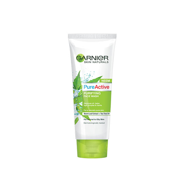 Garnier Pure Active Purifying Neem Face Wash 100ml