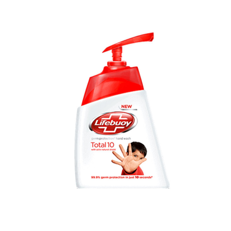 Lifebuoy Total Protect Hand Wash Pump 215ml (Ind)