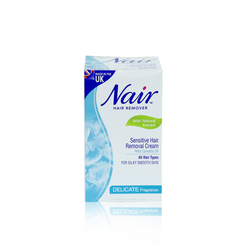 Nair Delicate For Silky Smooth Hair Removing Lotion Jar 120ml (K)