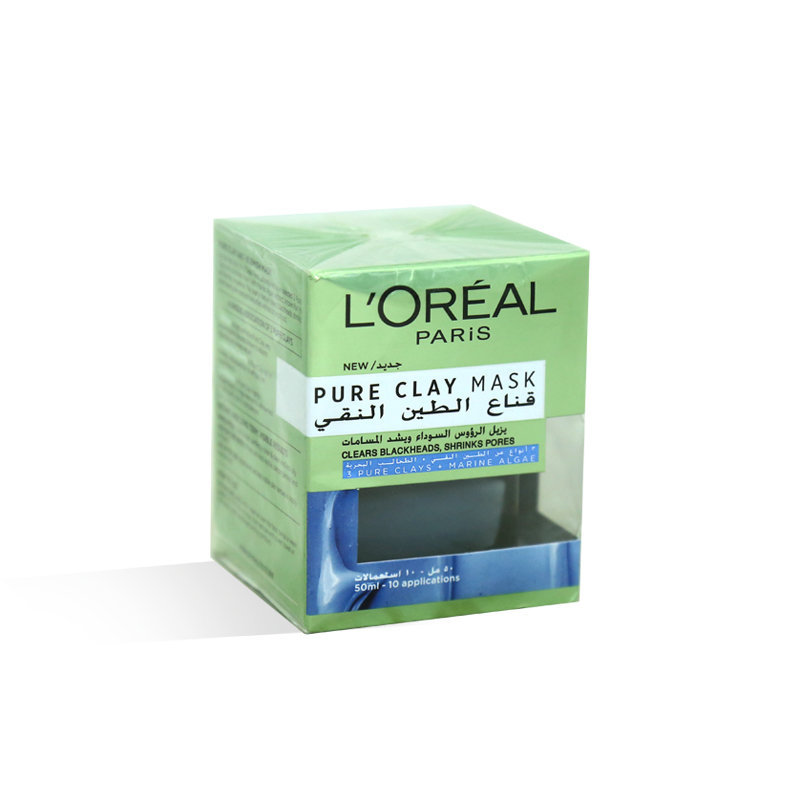 Loreal Pure Clay Marine Algae Face Mask 50ml