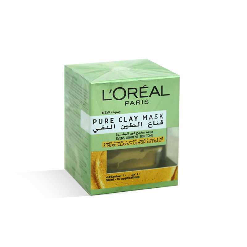 Loreal Pure Clay Lemon Extract Face Mask 50ml