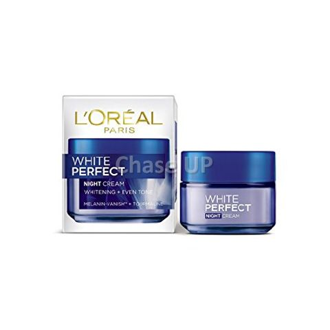 Loreal White Perfect Night Soothing Face Cream 50ml