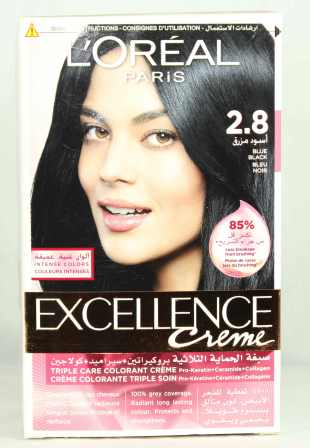 Loreal Excellence Creame Hair Color 2.8 172ml