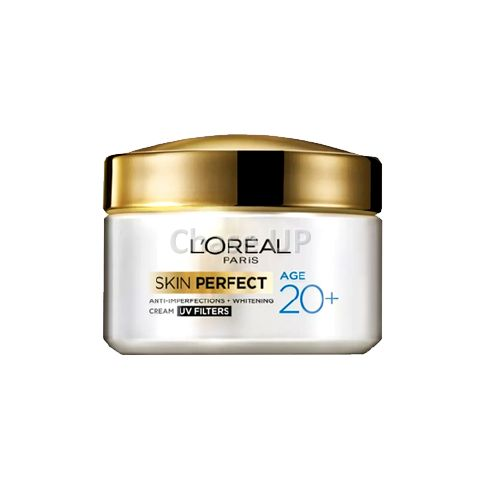 Loreal Skin Perfect Age 20+ Whitening Face Cream 50gm