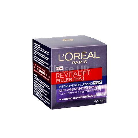 Loreal Revitalift Filler Anti Ageing Night Face Cream 50ml