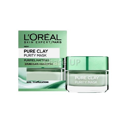 Loreal Pure Clay Eucalyptus Face Mask 50ml