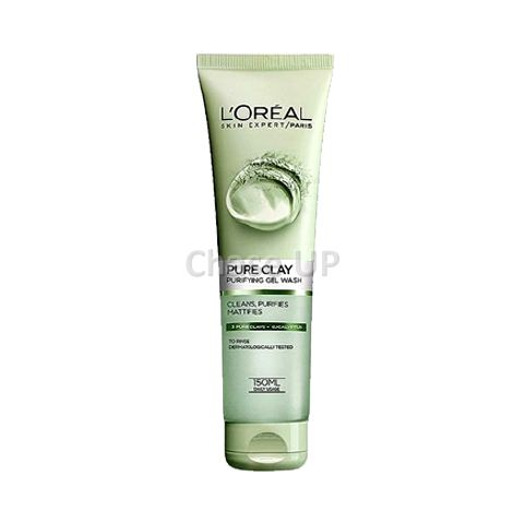 Loreal Pure Clay Eucalyptus Gel Face Wash 150ml