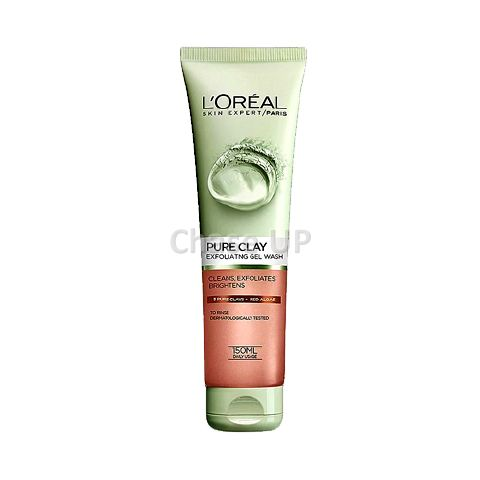 Loreal Pure Clay Red Algae Gel Face Wash 150ml