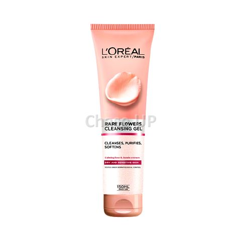 Loreal Rare Flowers Dry & Sensitive Gel Face Wash 150ml