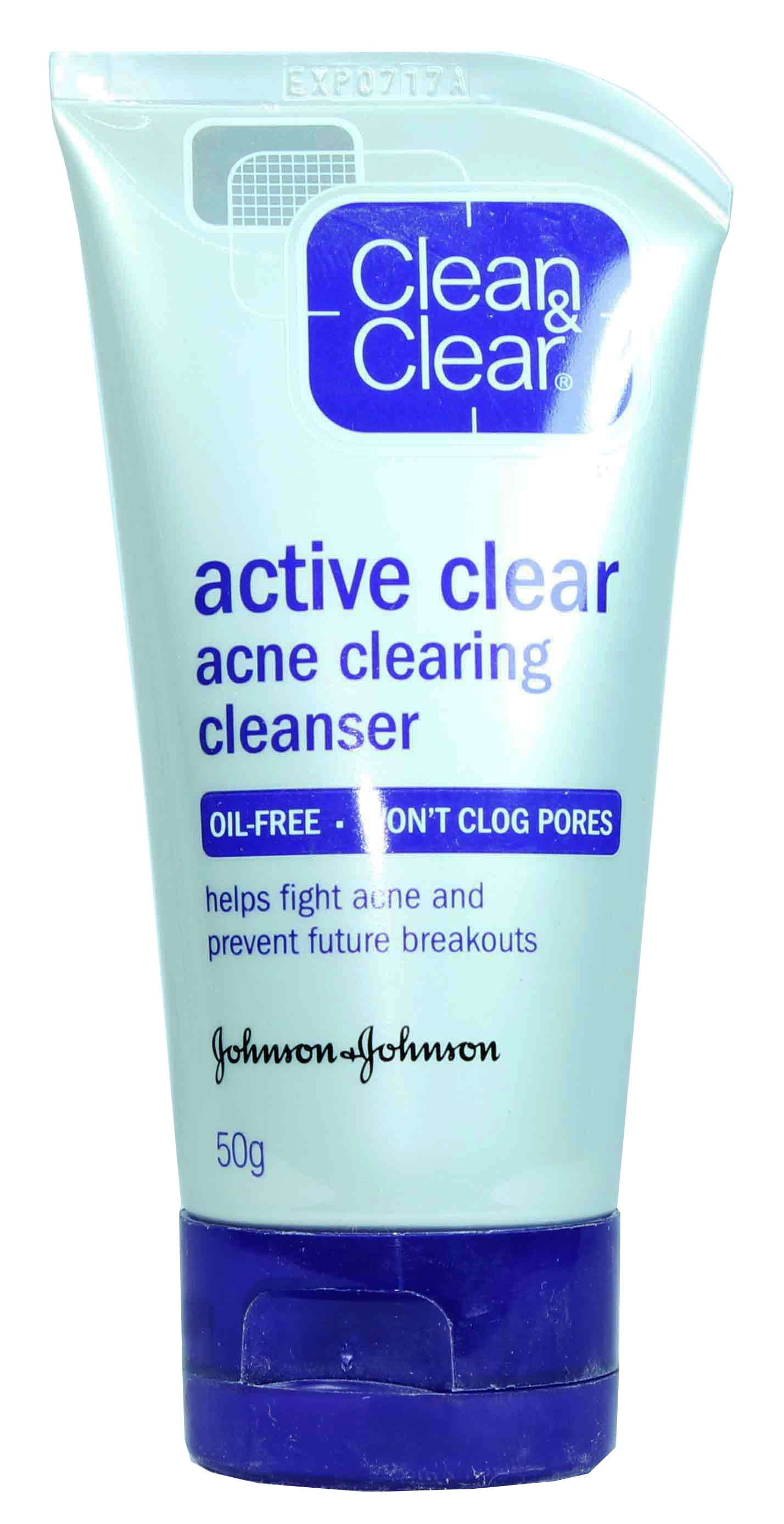 Clean & Clear Active Clear Acne Clearing Face Cleanser 50gm