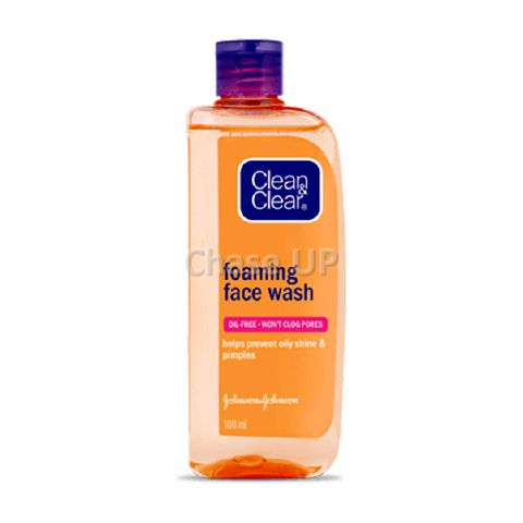 Clean & Clear Foaming Oil Free Facial Wash 100ml