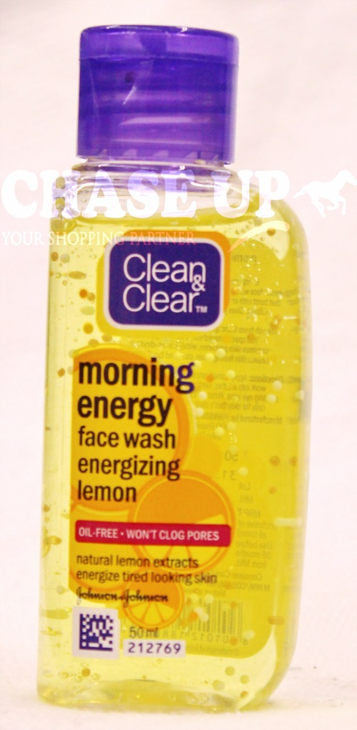 Clean & Clear Morning Energy Lemon Face Wash 50ml
