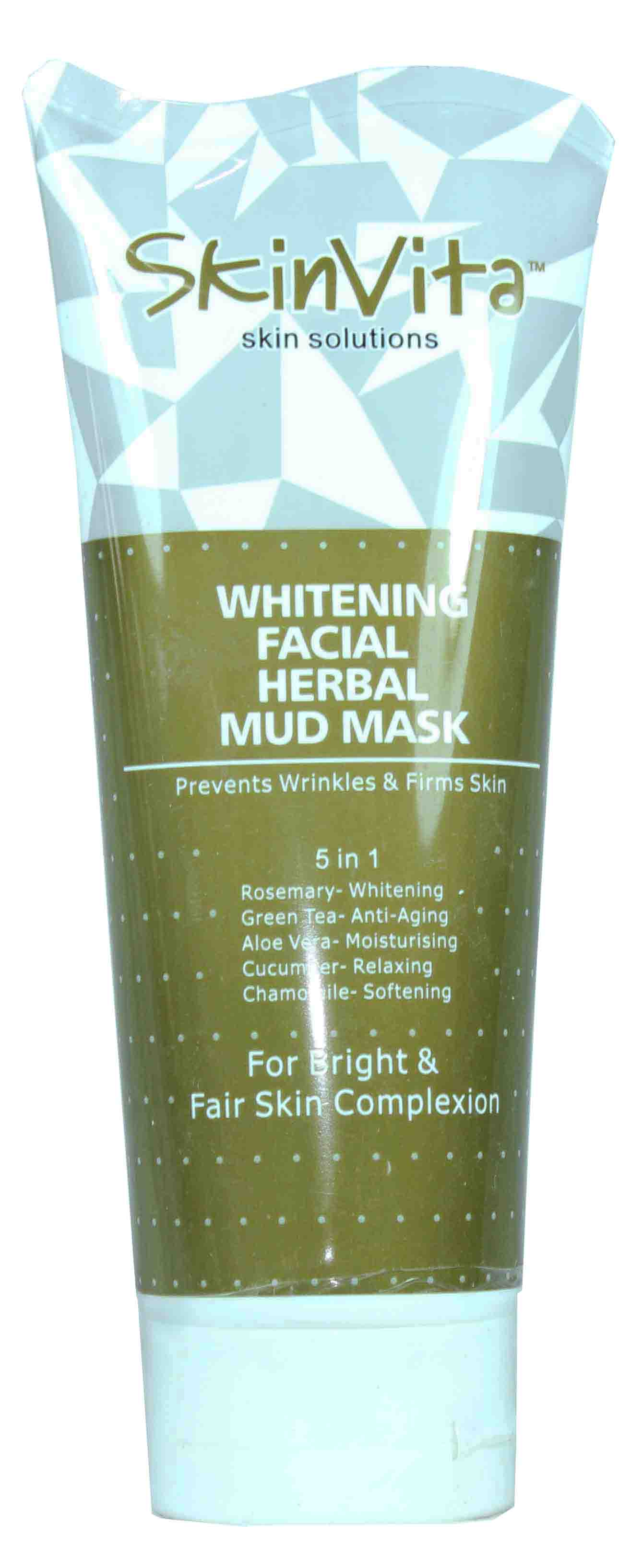 Skin Vita Whitening Herbal Facial Mud Mask 150ml