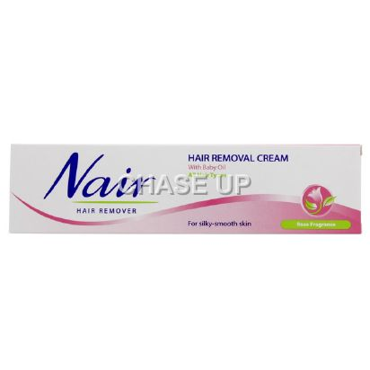 Nair Rose Fragrance Hair Removing Cream Tube 110ml (K)