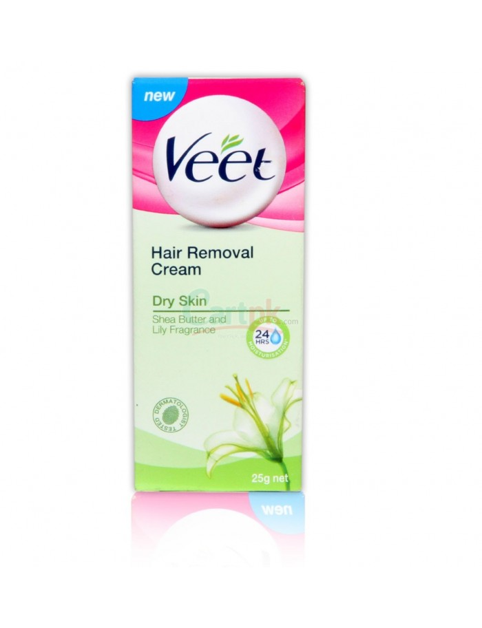 Veet Dry Skin Hair Removal Cream 25gm