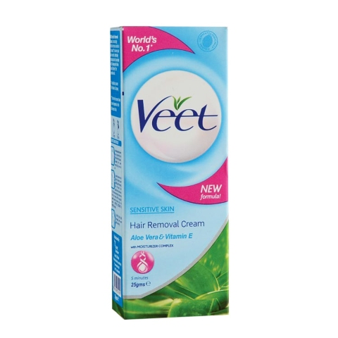 Veet Sensitive Skin Hair Removal Cream 25gm