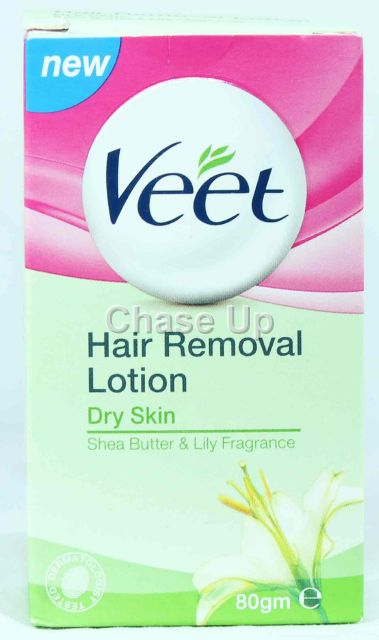 Veet Dry Skin Hair Removing Lotion 80gm