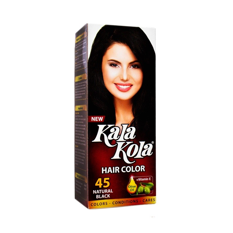 Kala Kola Hair Color (Oriental Black) 45 100ml