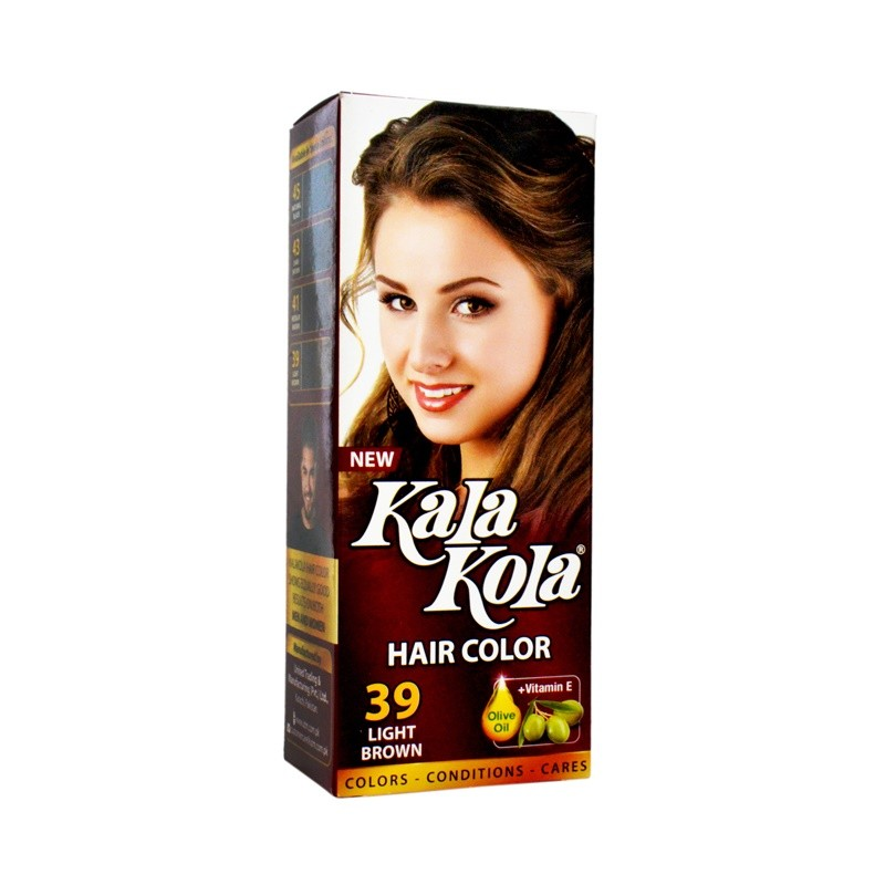Kala Kola Hair Color (Light Brown) 39 100ml