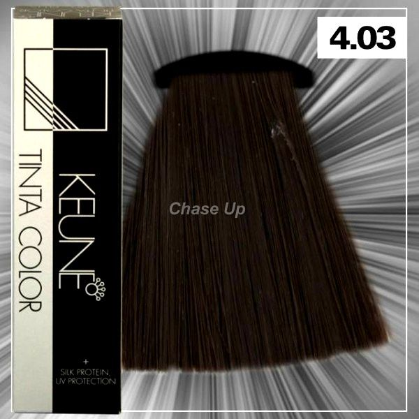 Keune Tinta Hair Color 4.03 Tube 60ml