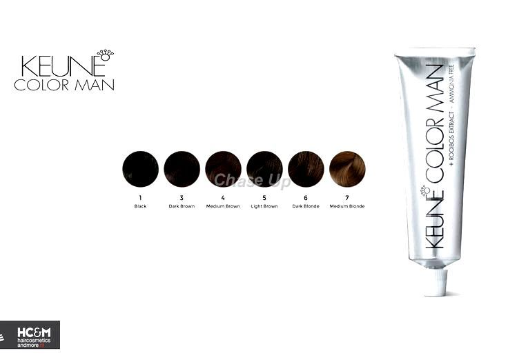 Keune Man Hair Color 1 Tube 60ml