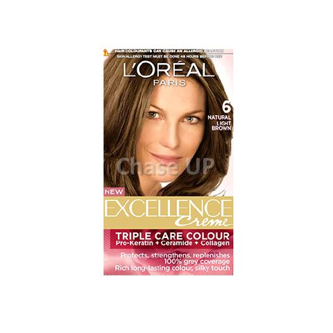 Loreal Excellence Creme Hair Color 6 172ml