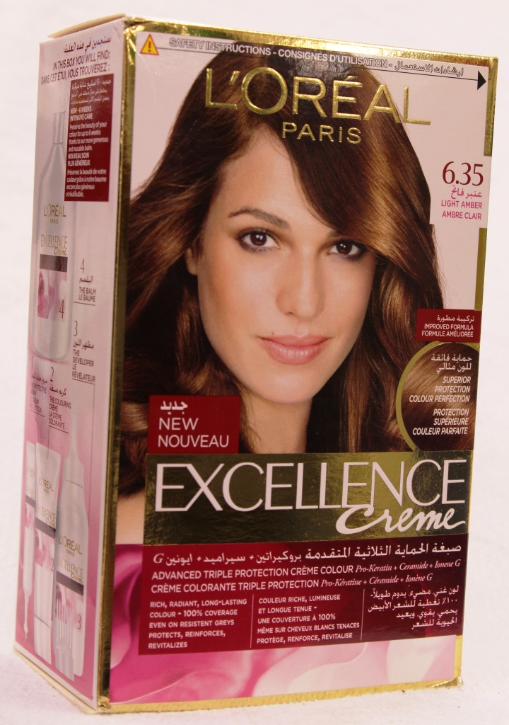 Loreal Excellence Creme Hair Color 635 172ml