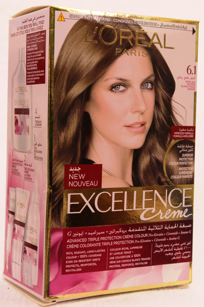 Loreal Excellence Creme Hair Color 6-1 172ml