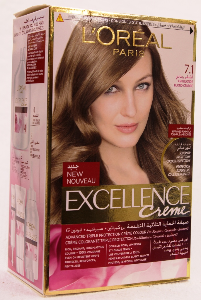 Loreal Excellence Creme Hair Color 7-1 172ml