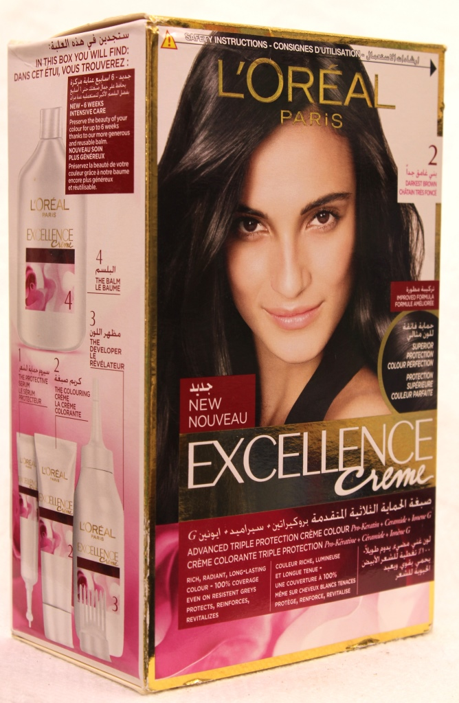 Loreal Excellence Creme Hair Color 2 172ml