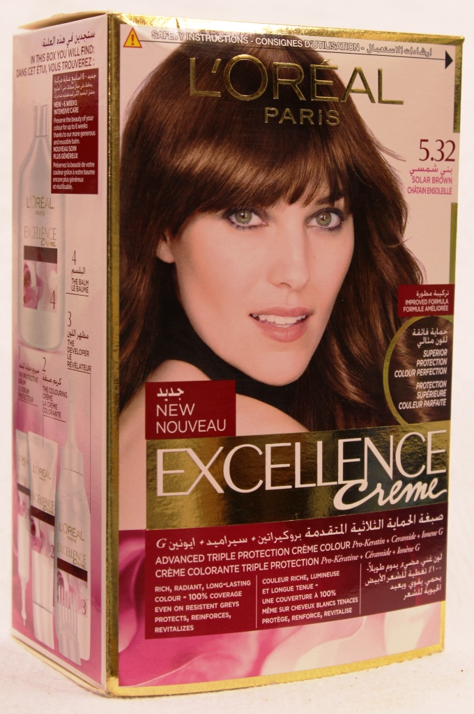 Loreal Excellence Creame Hair Color 5.32 172ml