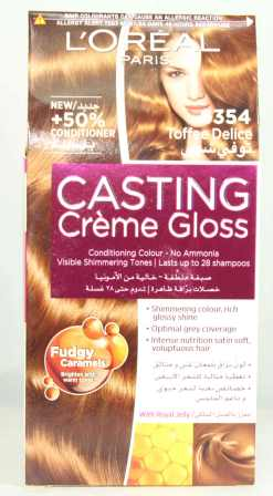 Loreal Casting Creme Gloss Hair Color 6354